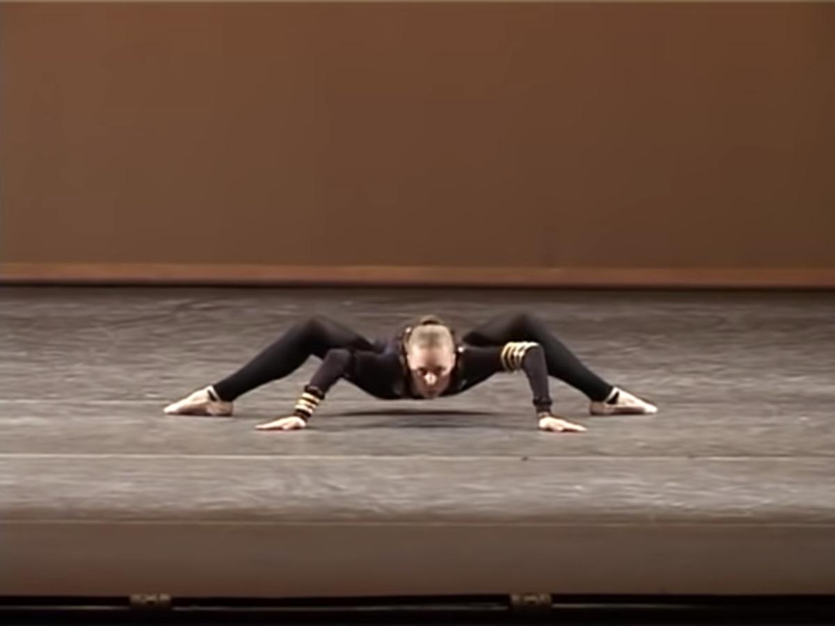 The Spider choreography by Milena Sidorova